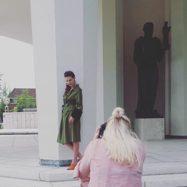 Shoot with blogger Michelle Verpuggi