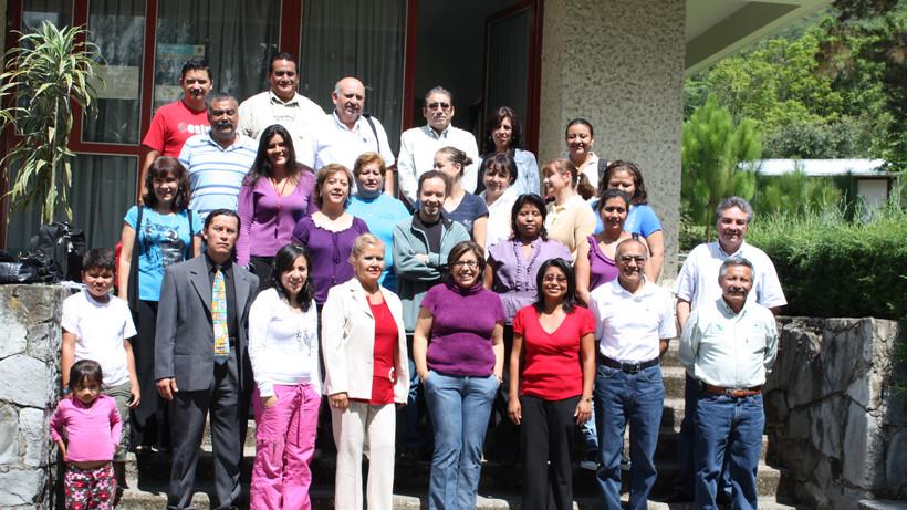 Grupo de docentes de los CECFOR´s