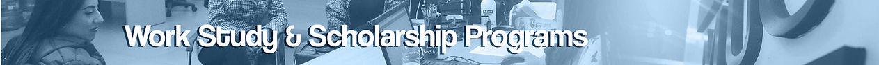 Work Study & Scholarship Programs