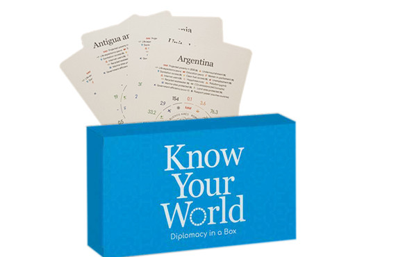 Know your World - Diplomacy in a box