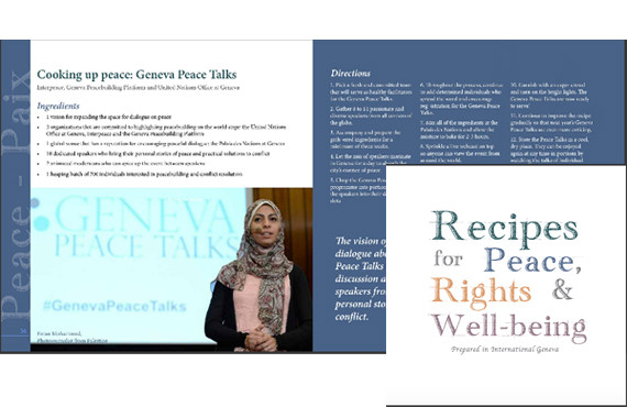 Recipes for Peace, Rights, and Well-Being