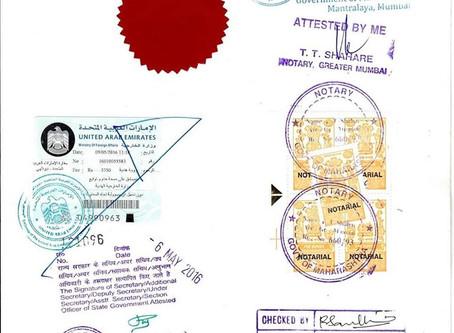 Certificates Attestation in UAE
