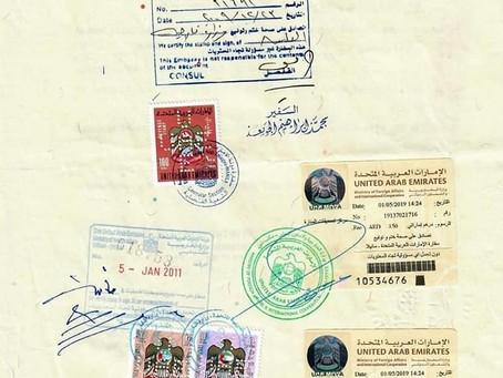 mofa & UAE embassy attestation in uae