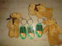 Teddy keyrings