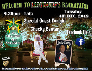 Lady Smurf Backayard Show with Chucky Bantan