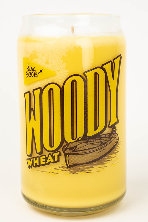 Woody Wheat Soy Candle