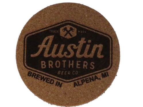 Original Logo Cork Coaster
