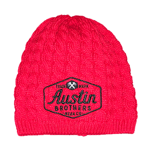 Red Cable Beanie