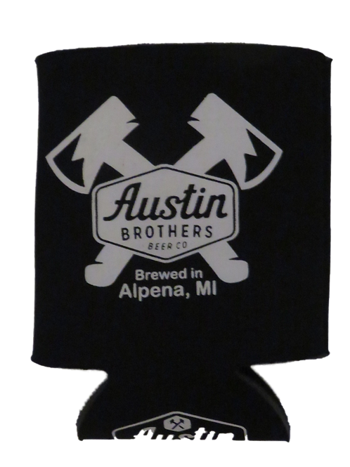 Austin Bros. Black Beer Coozie