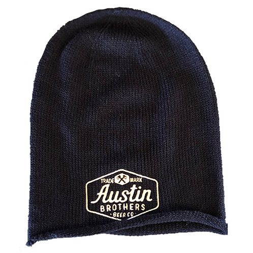 Navy Slouch Beanie