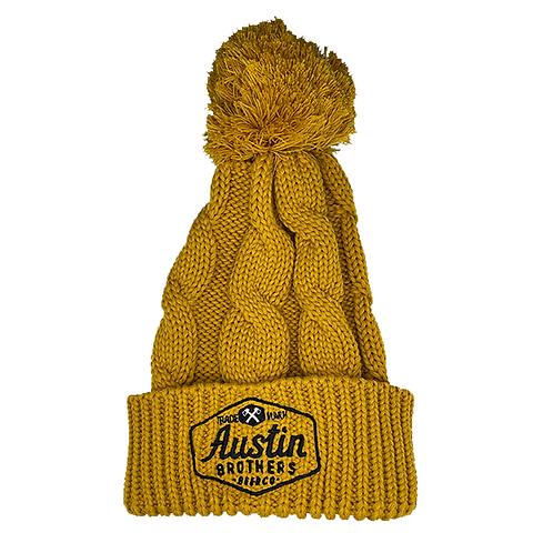 Mustard Chunk Beanie