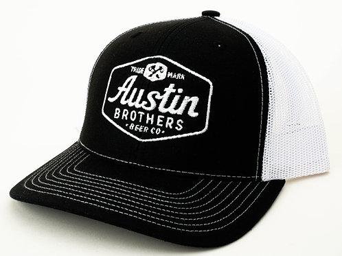 Trucker Hat Black and White