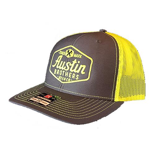 Trucker Hat Gray and Yellow