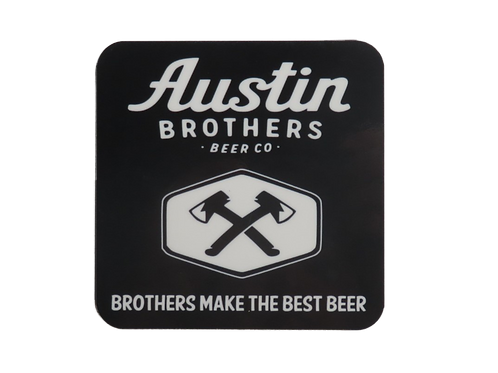 Brothers Banner Coaster