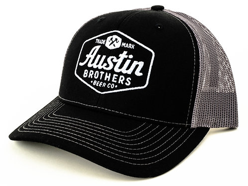 Trucker Hat Black and Grey