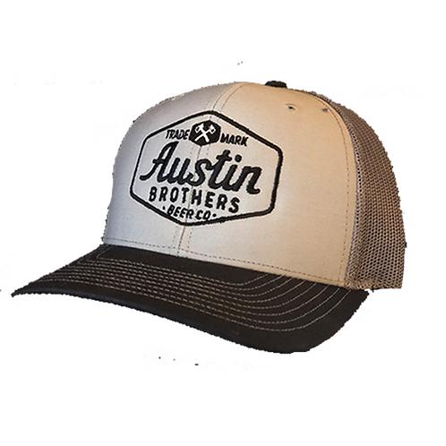 Trucker Hat Gray and Dark Gray
