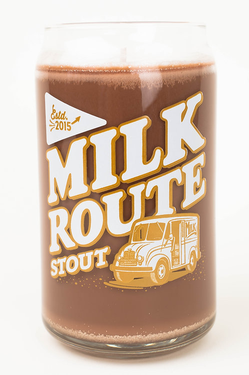 Milk Route Stout Soy Candle