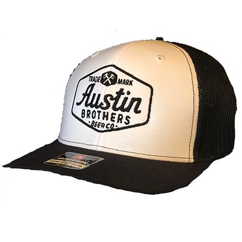 Trucker Hat White and Black