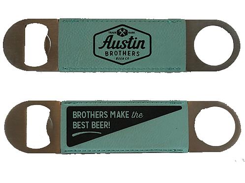 Leather Handle Bottle Opener