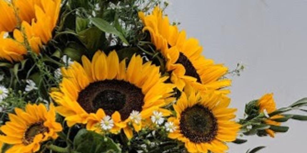 Fathers Day Sunflower Sunshine - £40