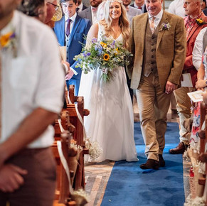 Wedding florists in Swansea and Gower