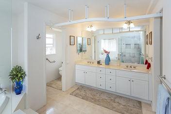 Sure hands ceiling track bathroom