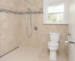 Walk-In Showers after installation