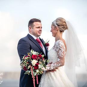 Oxwich Bay wedding flowers