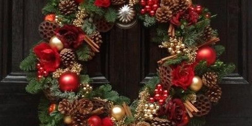 The Big One - Christmas Door Wreath