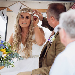 Wedding flowers in Wales