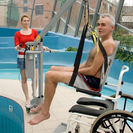 Products - Wheelchair-to-Water Pool Lift | Thrive for Life | Honolulu, HI
