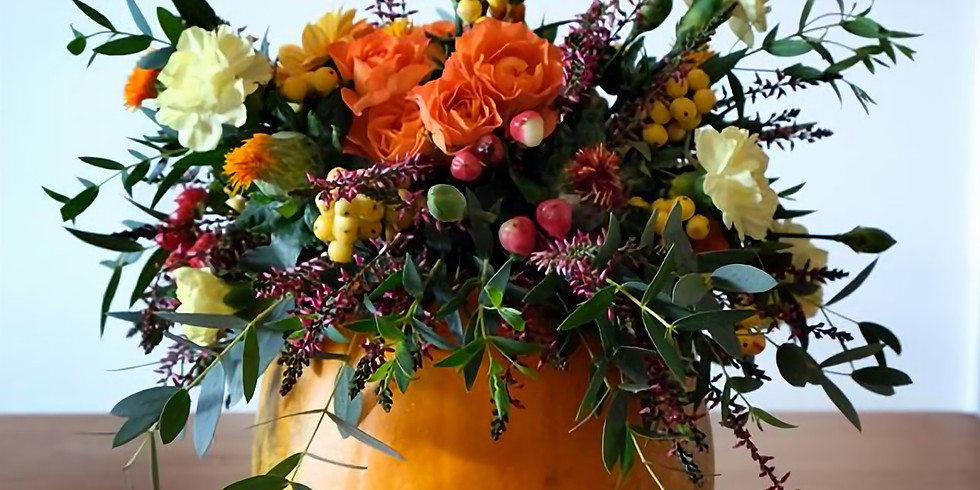 Autumn Pumpkins - £40   1-3pm