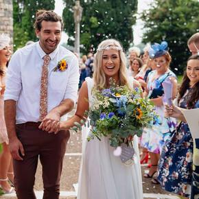Wedding flowers in Swansea, Gower
