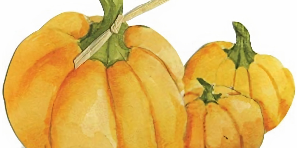 Autumn craft - a trio of crafted pumpkins - £40