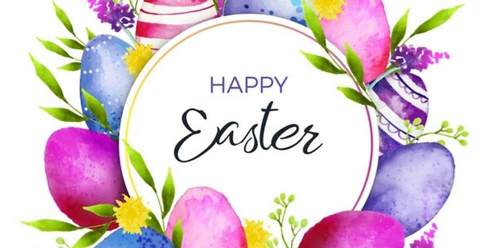 Easter Craft - Make an artificial Easter Door Wreath - £35