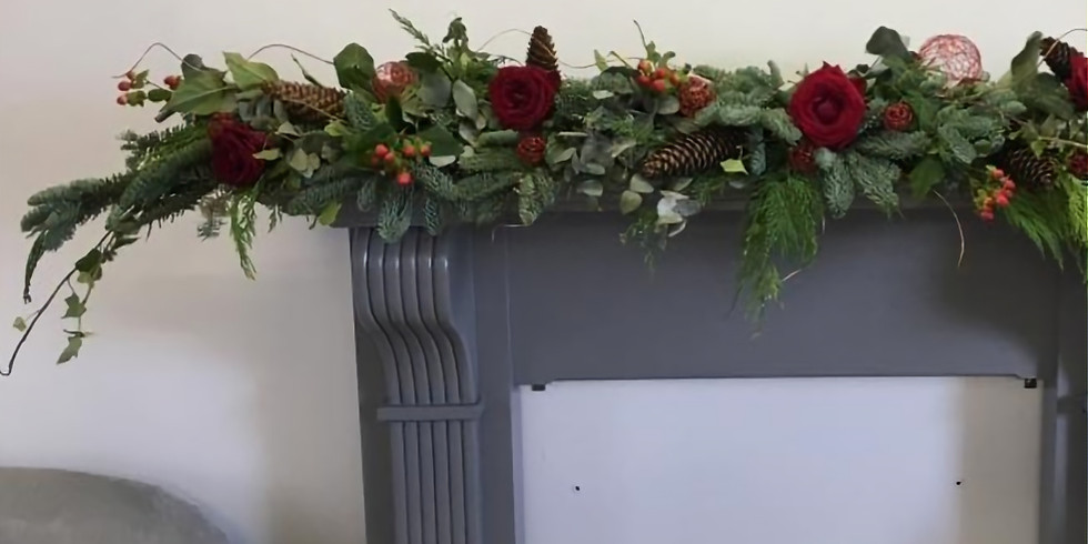 Mantlepiece design for Christmas - £95