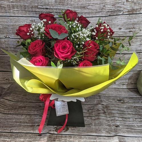 Luxury Dozen Rose Bouquet