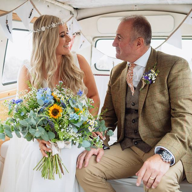 Gower wedding flowers