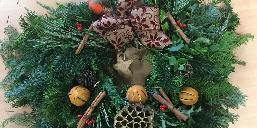 Christmas Door Wreath (1)