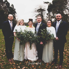 Fairyhill wedding flowers