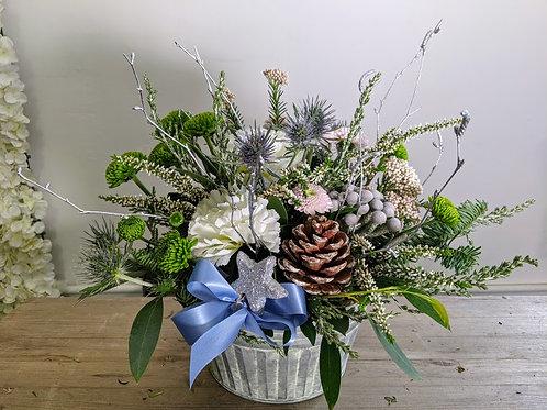 Frosty morning arrangement