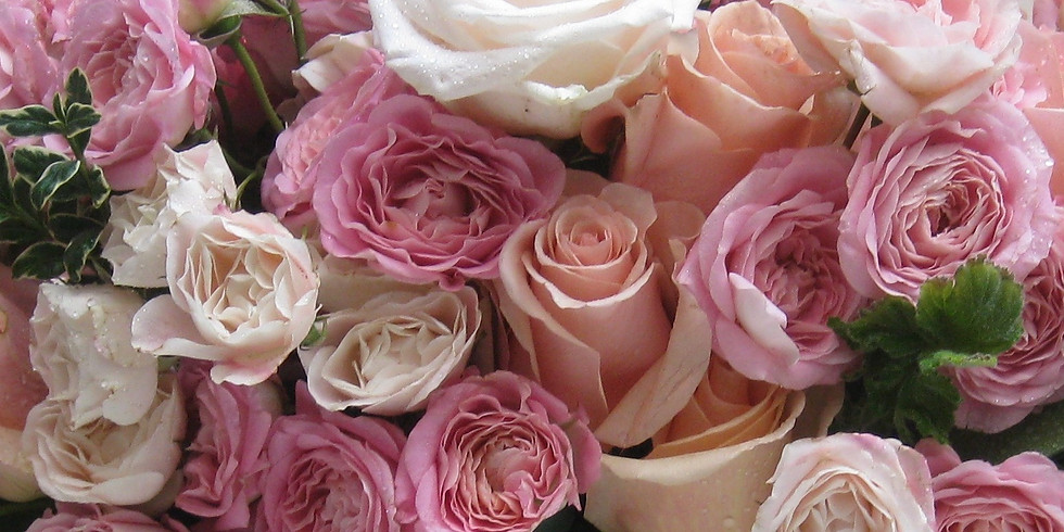 Classic roses, sumptuously arranged -  £40