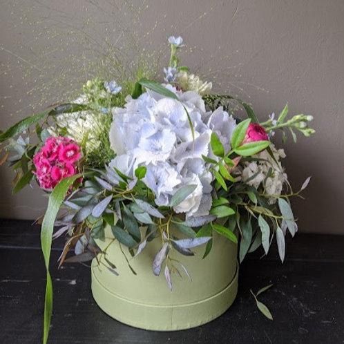 Floral Hat Box