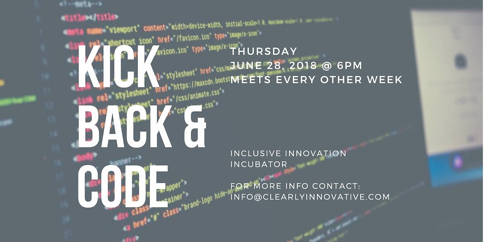 Clearly Innovative Inc's - Kick Back & Code