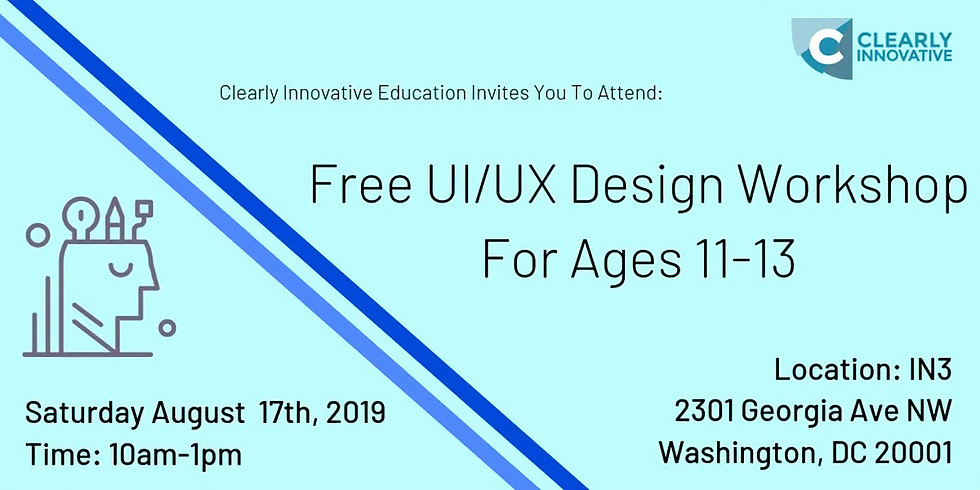 Clearly Innovative Education - Youth UI/UX Design Workshop
