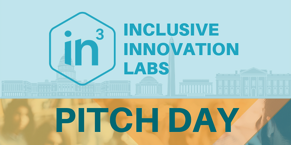Pitch Event for Inclusive Innovation Labs