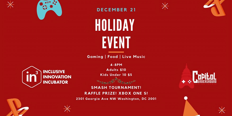 Game Night Holiday Event