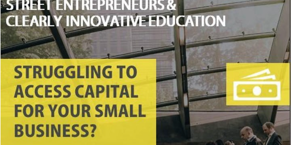 Business Planning and Access to Capital