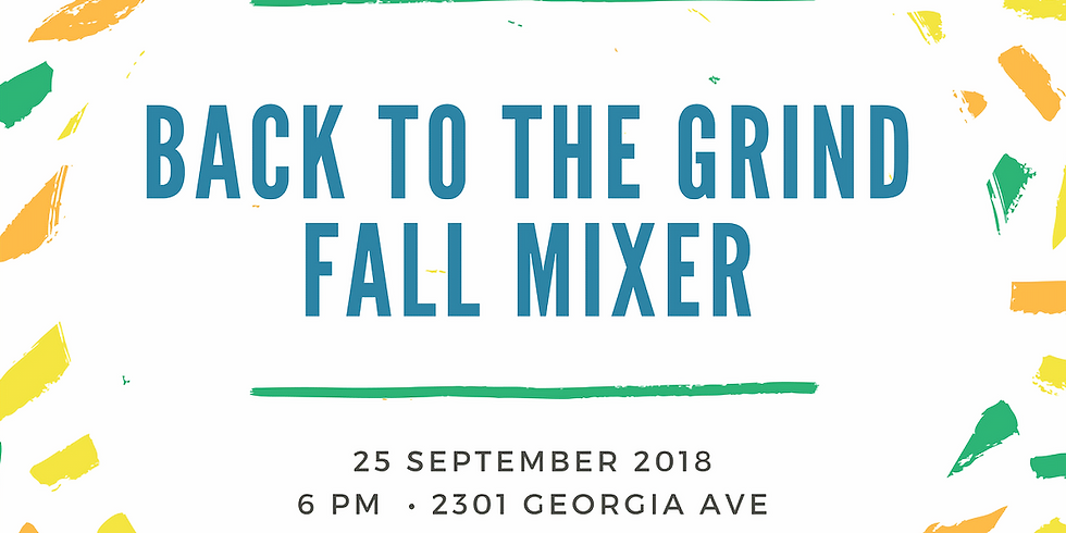 DCACM, DCJS & In3 Present: Back To The Grind Fall Mixer