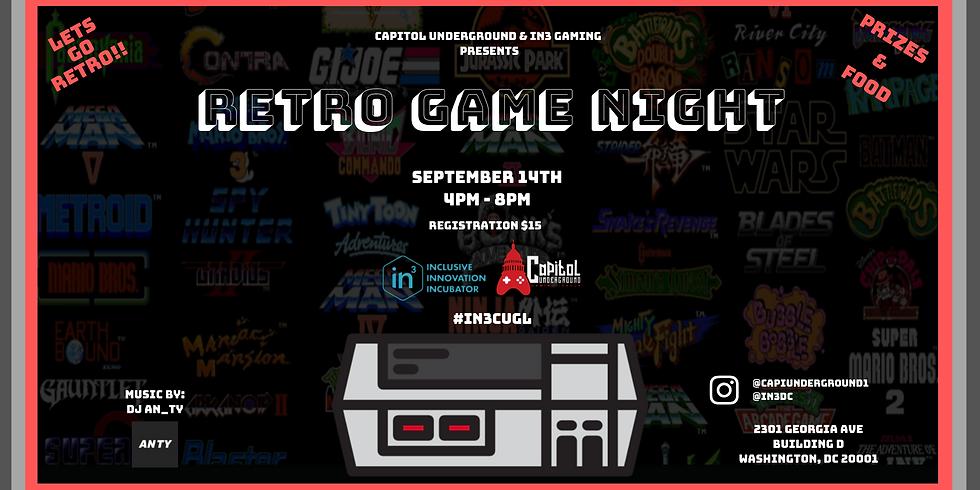 Let's Go Retro - Retro Game Night